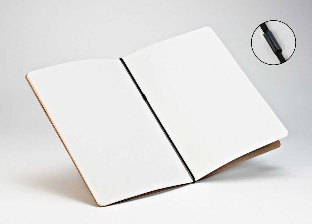 Buch Gummiband bindung
