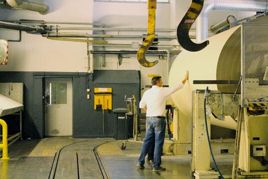 Graspapier Papierfabrik
