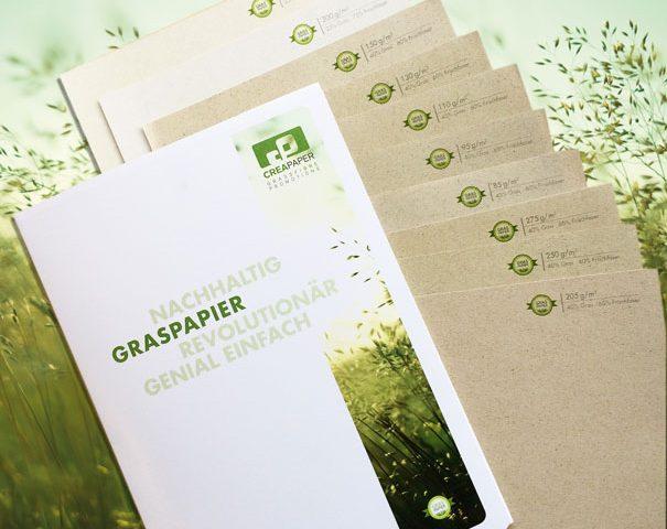 Papier aus Gras