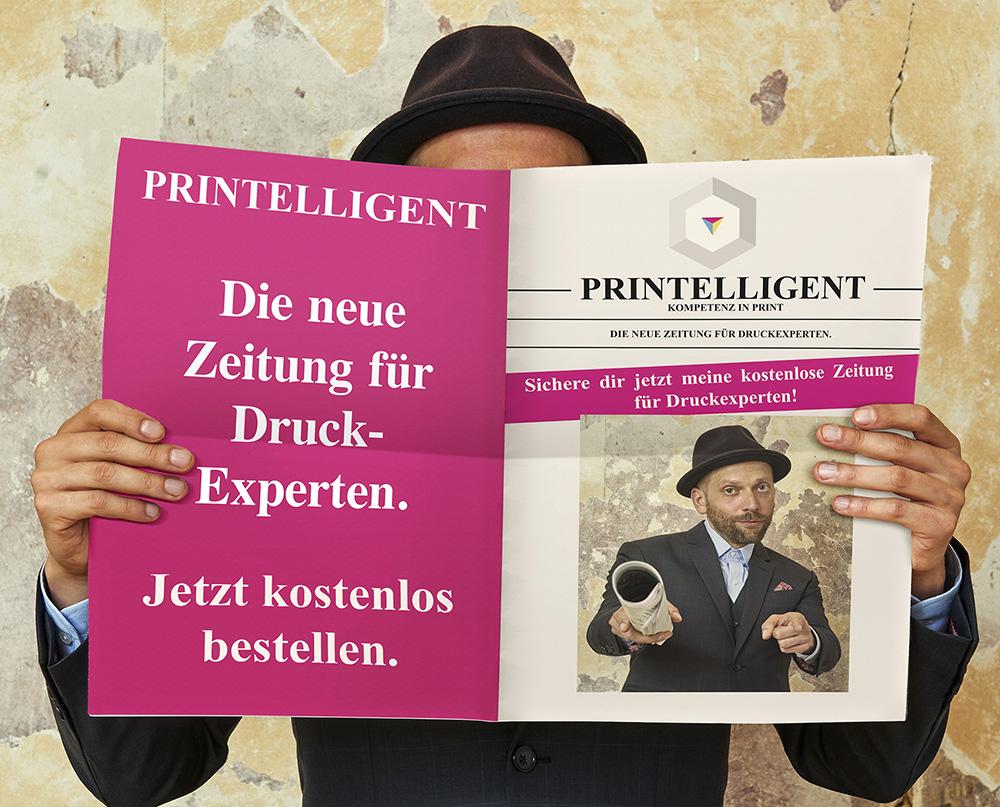 Printelligent als Zeitung