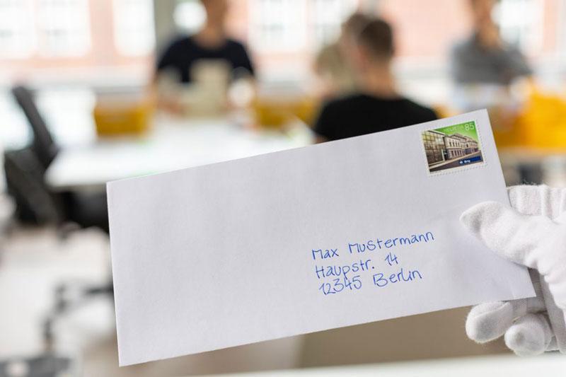 Wunderpen-Briefumschlag