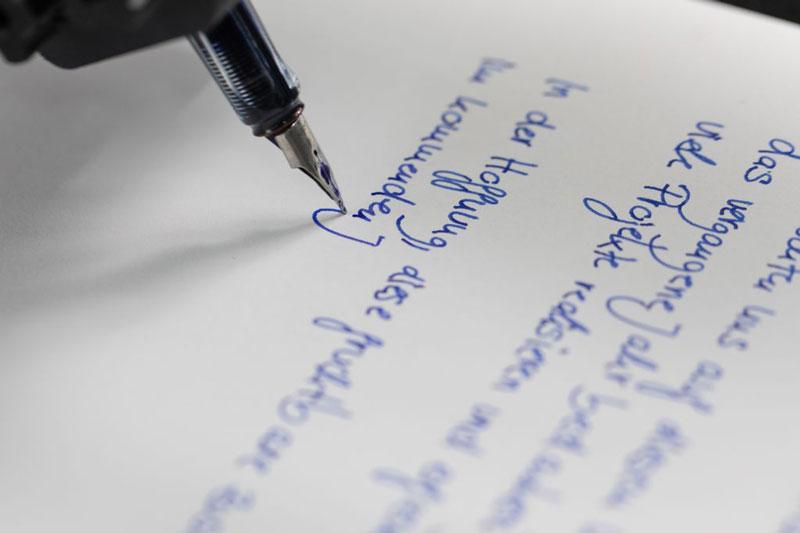 Wunderpen-Roboter-handschriften
