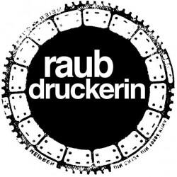Raubdruckerin Logo